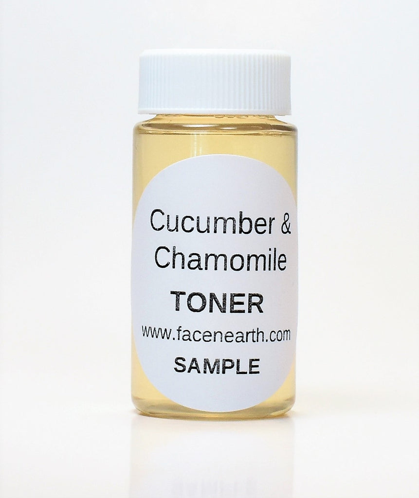SAMPLE - Cucumber & Chamomile Toner - All Skin Types including Sensitive Skin - Vegan