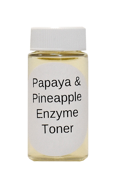 SAMPLE - Papaya Enzyme Clear Skin Toner 80% Organic with Niacinamide B3 Vitamin B5