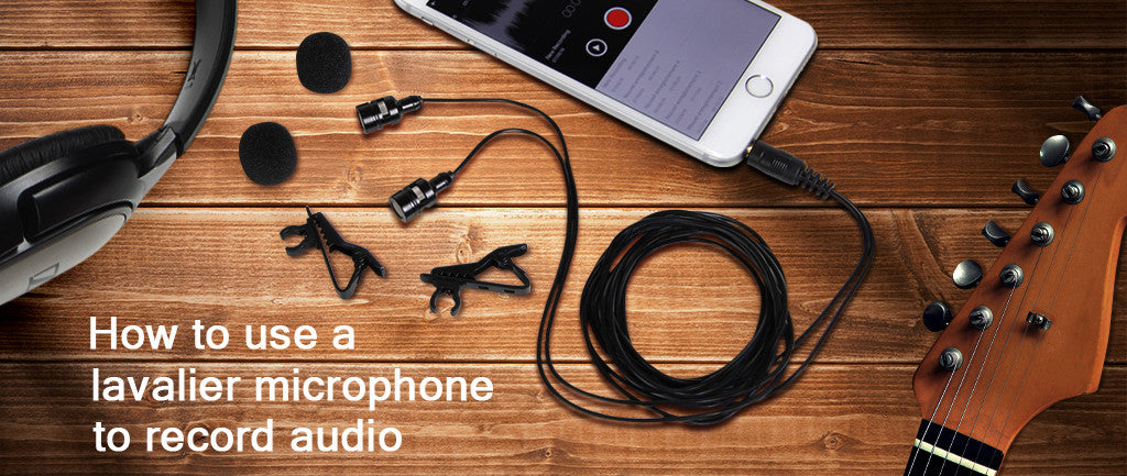 how to use a lavalier microphone to record audio tonor microphone. Black Bedroom Furniture Sets. Home Design Ideas