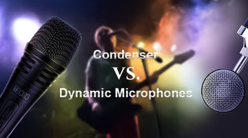 Condenser Microphones vs. Dynamic Microphones