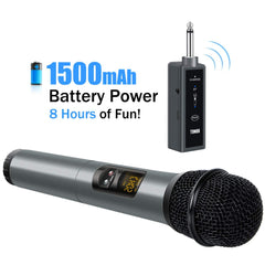 TONOR UHF 10 Channel Wireless Microphone