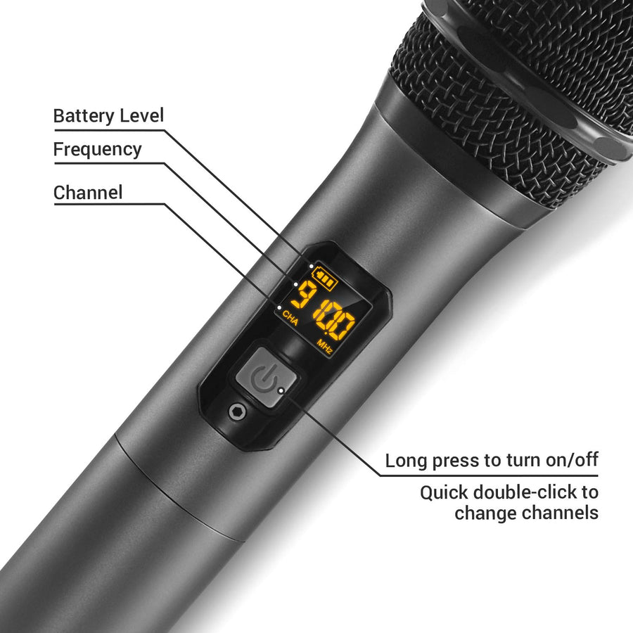 TONOR TW-820 Dual Wireless Microphone