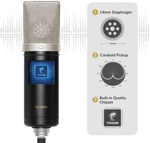 TONOR TC-2030 USB Microphone