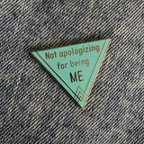 Not Apologizing