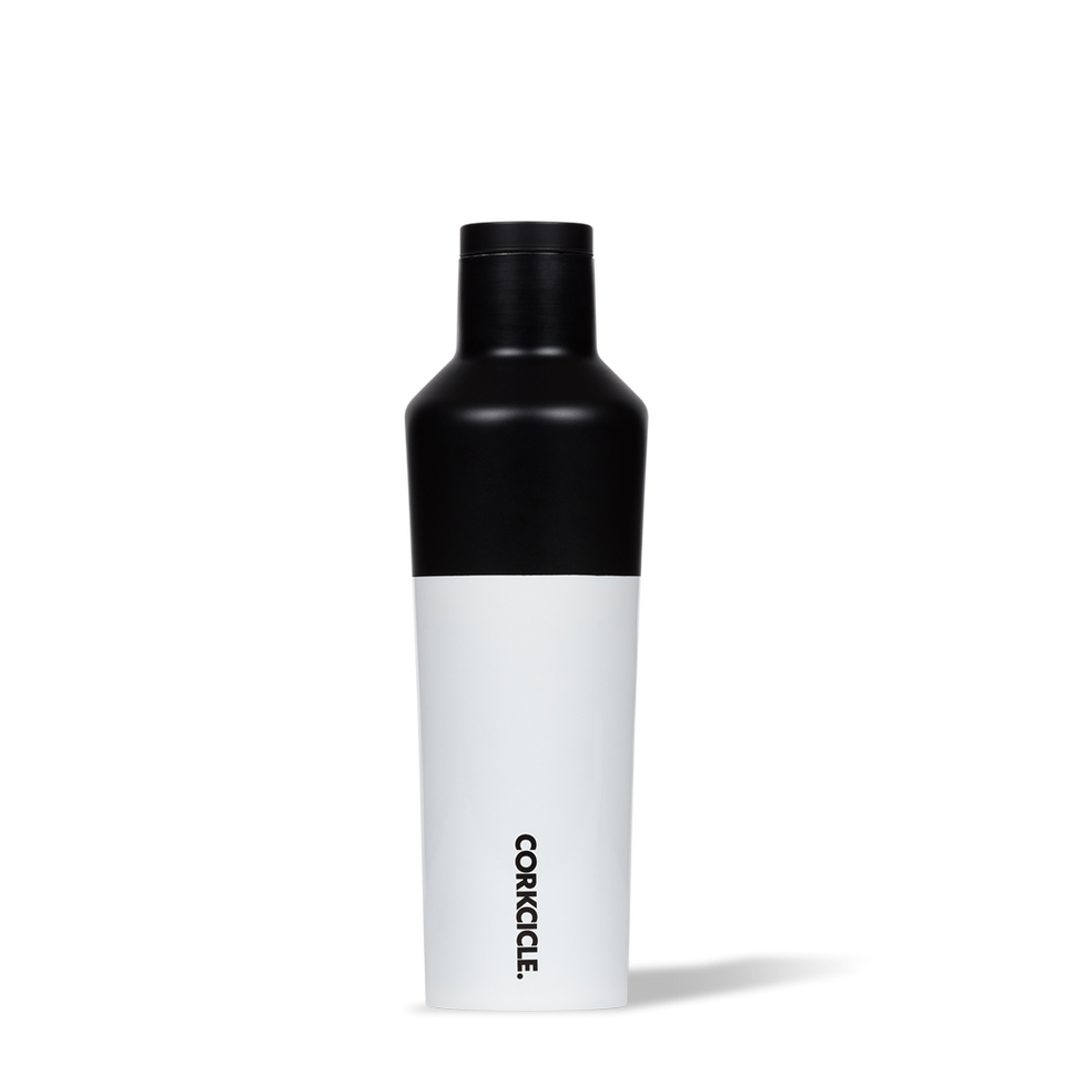 Corkcicle 16oz Canteen Colour Block Black