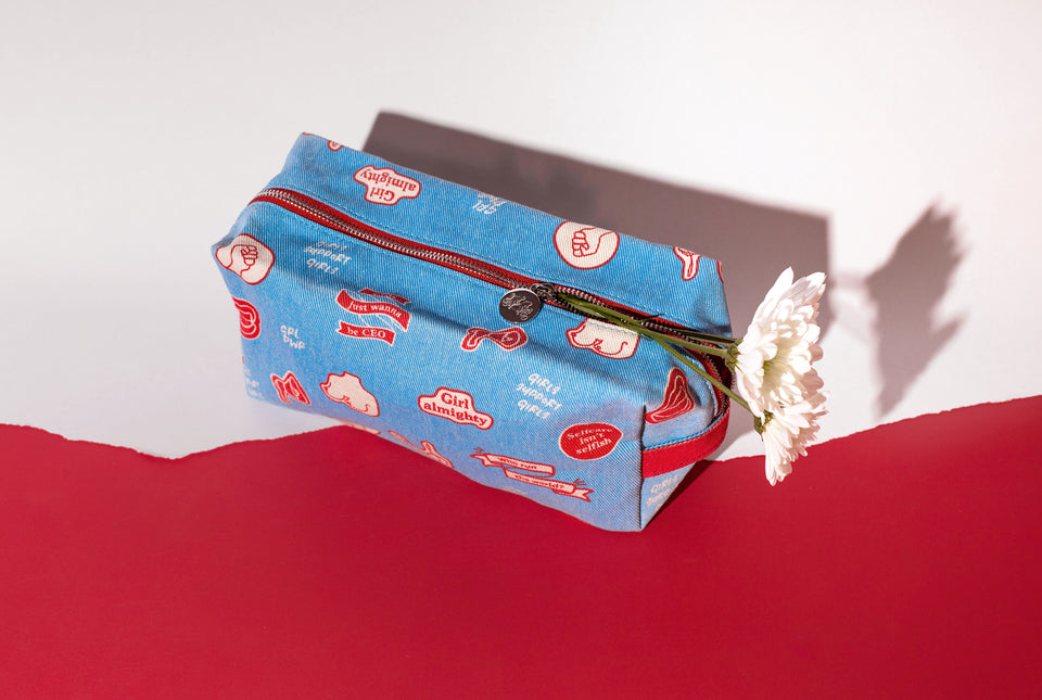 Me-Time Make Up Bag - Femme