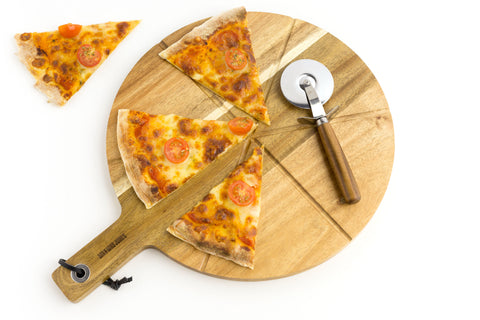 Love You to Pizzas | Pizza Board & Slicer