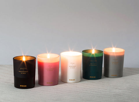 Single Wick Candle Rosa