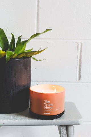 Elderflower, Pear & Freesia | 3 Wick Candle | The Triple Moon