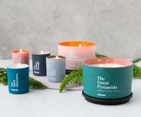 Bergamot, Balsam & Black Fig | 3 Wick Candle | The Great Pyramids