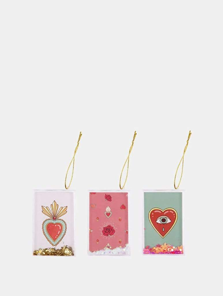 Glitter Frame Ornament Set of 3 | Sunnylife