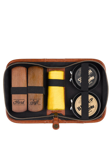 Mens Shoe Shine Kit
