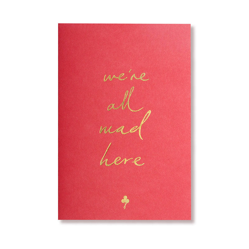 Single Card | We're All Mad