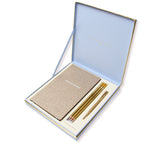 Notebook Gift Box Set | Blue & Gold