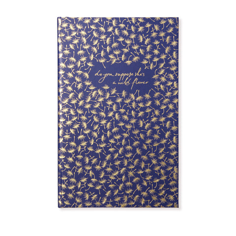 Notebook | Navy Dandelion