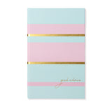 Notebook | Pink & Duck Egg
