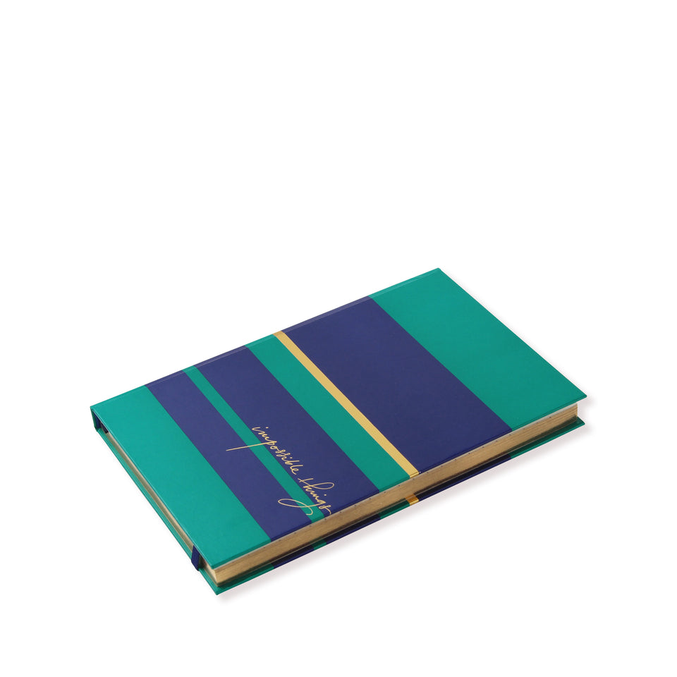 Notebook | Navy & Emerald Green