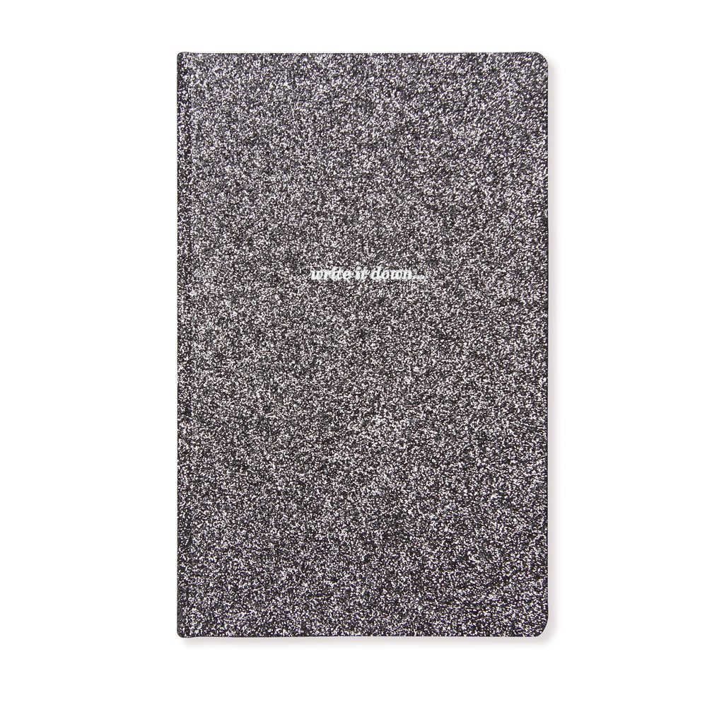 Notebook | Glitter Black