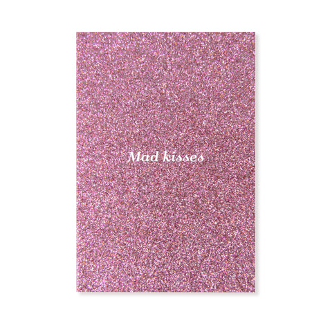 Single Card | Mad Kisses Pink
