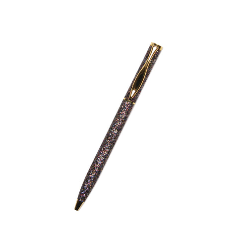 Small Pen | Glitter Black