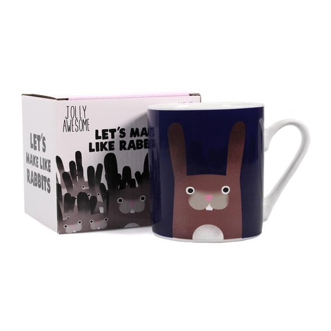 Heat Changing Mug - Rabbits