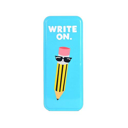 Pencil Tin Write On | Jolly Awesome