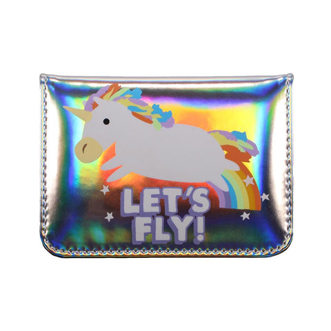 Travel Card Holder -  Unicorn