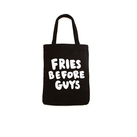 Canvas Tote Fries Before Guys