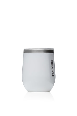 12oz Stemless Gloss White
