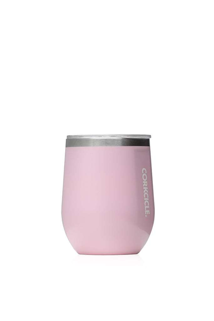 12oz Stemless Rose Quartz
