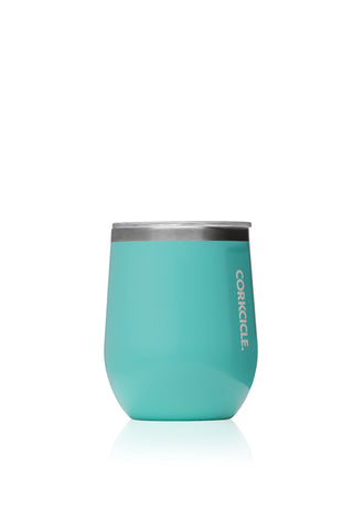 12oz Stemless Turquoise