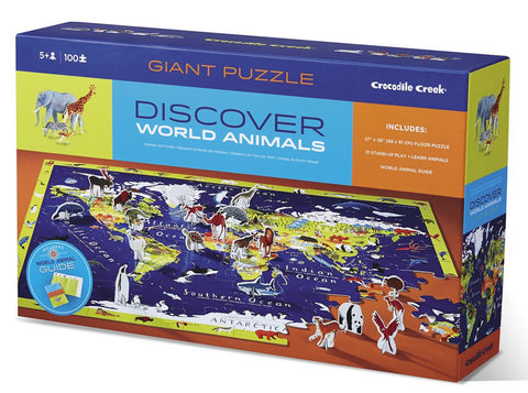 100pc Discover Puzzle World