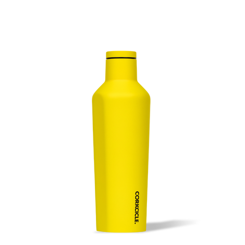 Corkcicle 16oz Canteen Neon Yellow