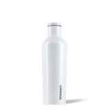 Corkcicle 16oz Canteen Dipped Modern White