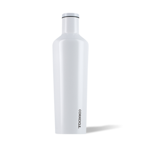 Corkcicle 25oz Canteen Dipped Modern White