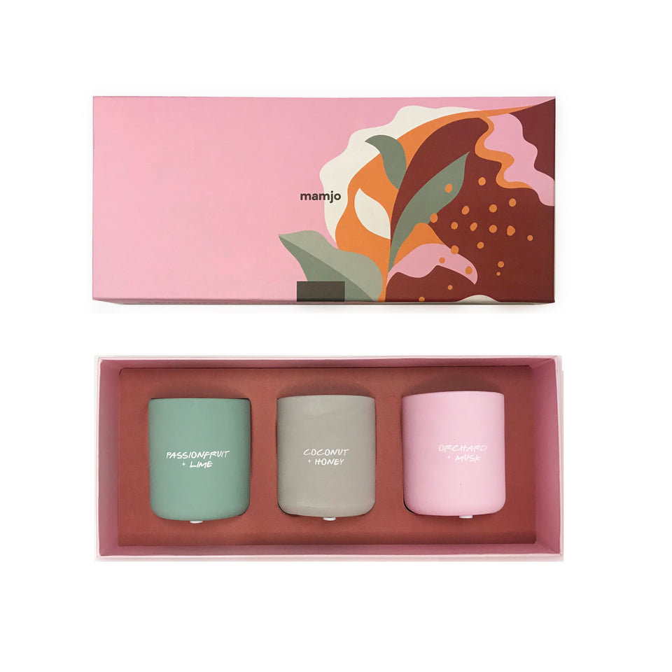 Candle Sample Set | Mother Earth