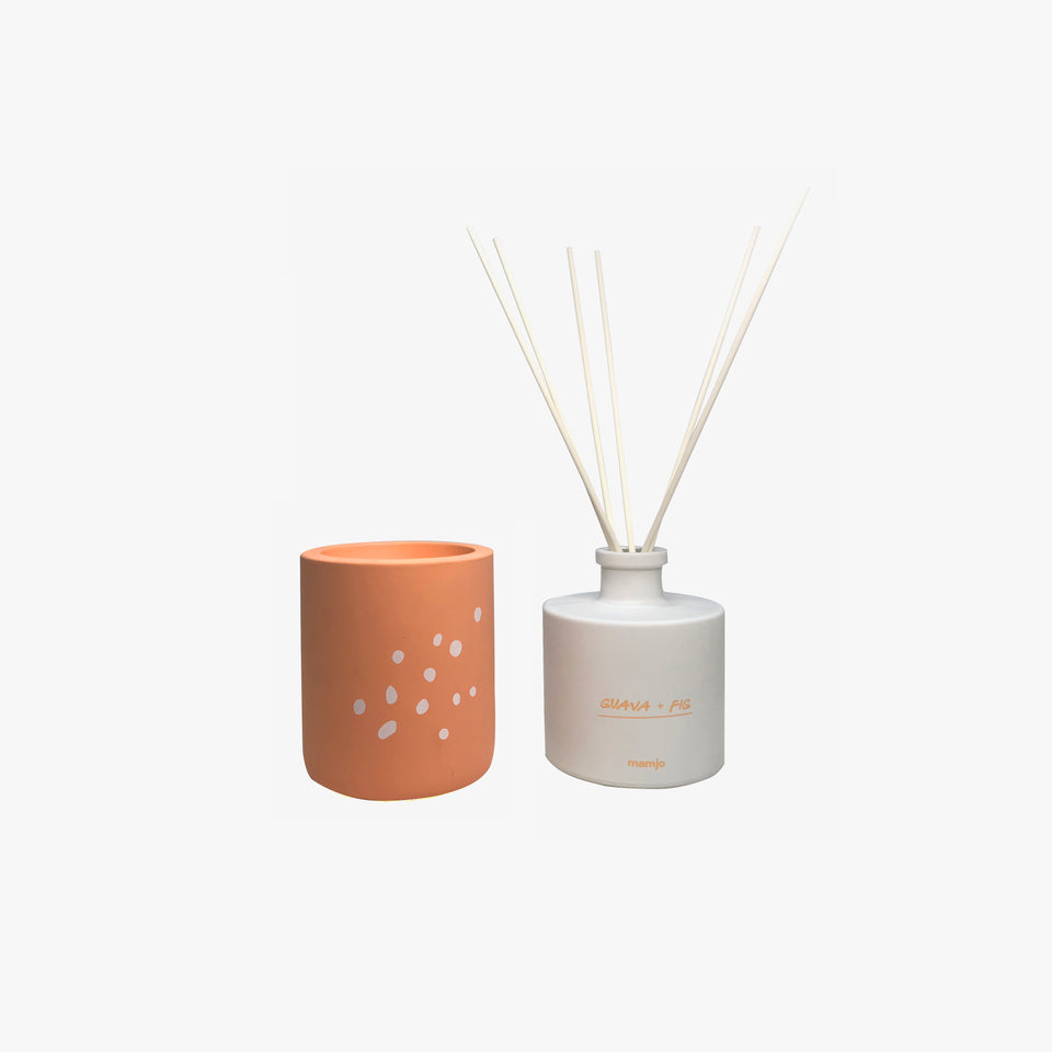 Candle and Diffuser Set | Mother Earth - Guava and Fig