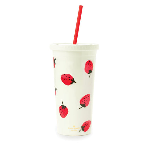 Kate Spade - Tumbler Strawberries