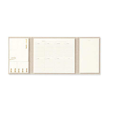 Polka Dot Calendar and Folio