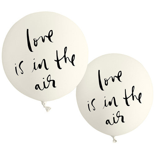 Bridal Balloon Love