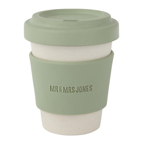 Coffee Cup Bamboo 8 oz Army