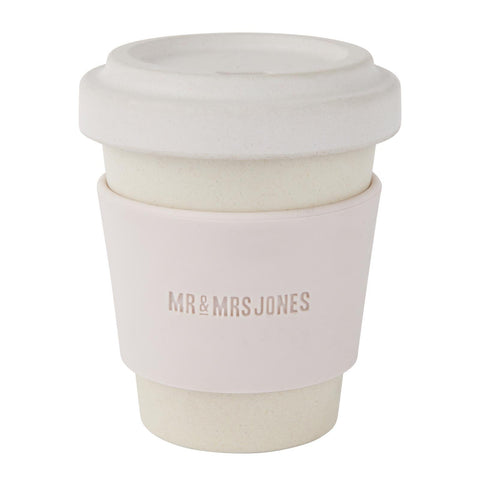 Coffee Cup Bamboo 8 oz Dust
