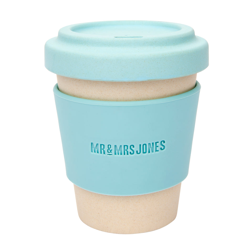Bamboo coffee cup (assorted colours)