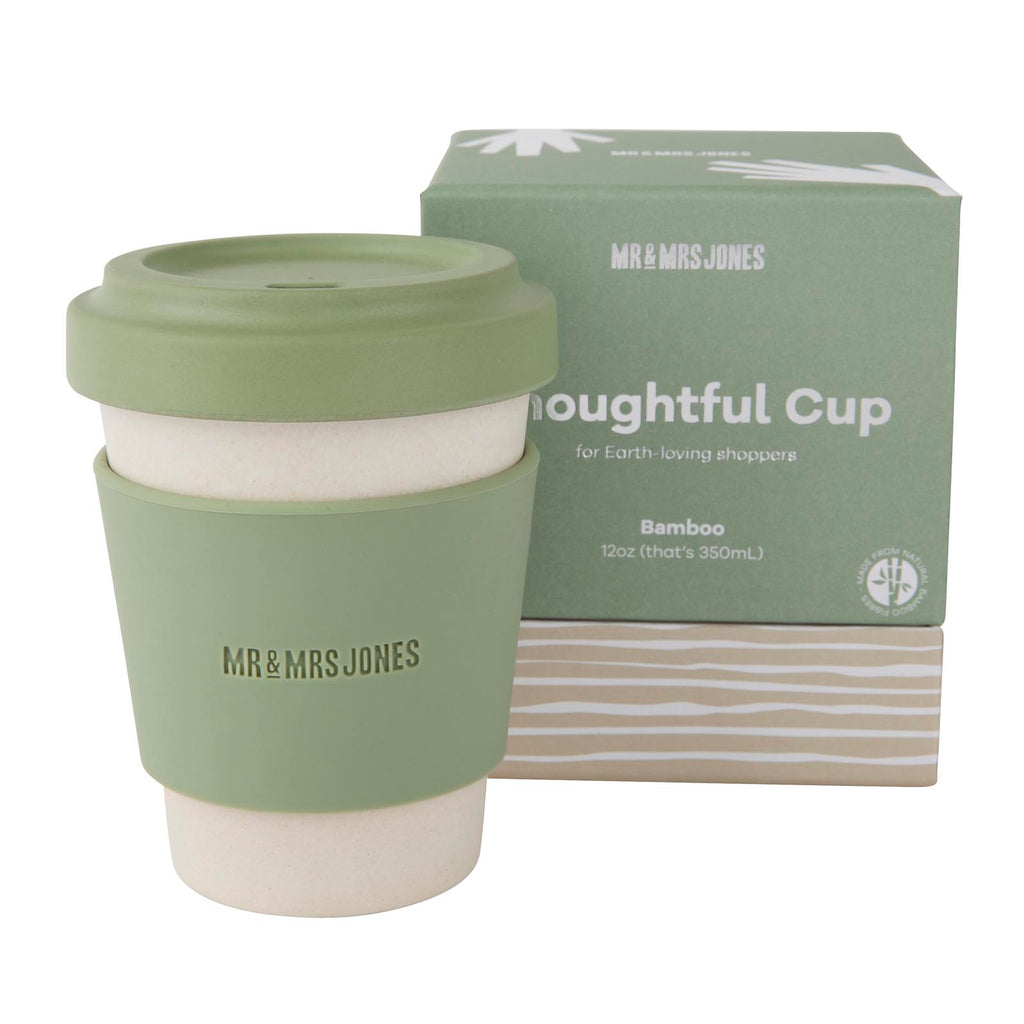 12 oz Bamboo Coffee Cup | Army