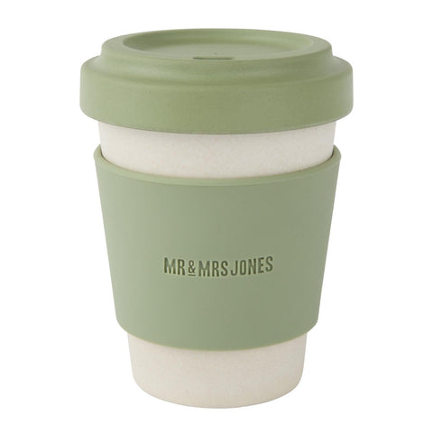 Coffee Cup Bamboo 12 oz Army