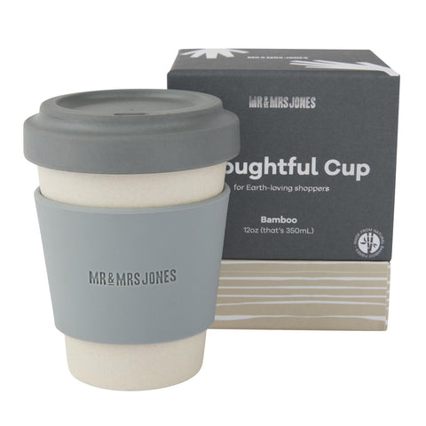 12 oz Bamboo Coffee Cup | Concrete