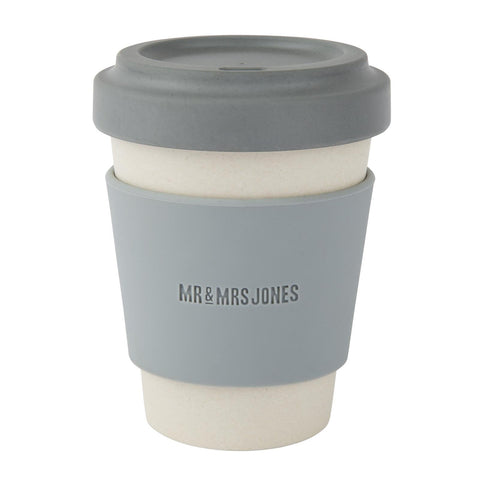 Coffee Cup Bamboo 12 oz Concrete