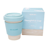 12 oz Bamboo Coffee Cup | Sky
