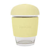 12 oz Glass Coffee Cup | Lemon