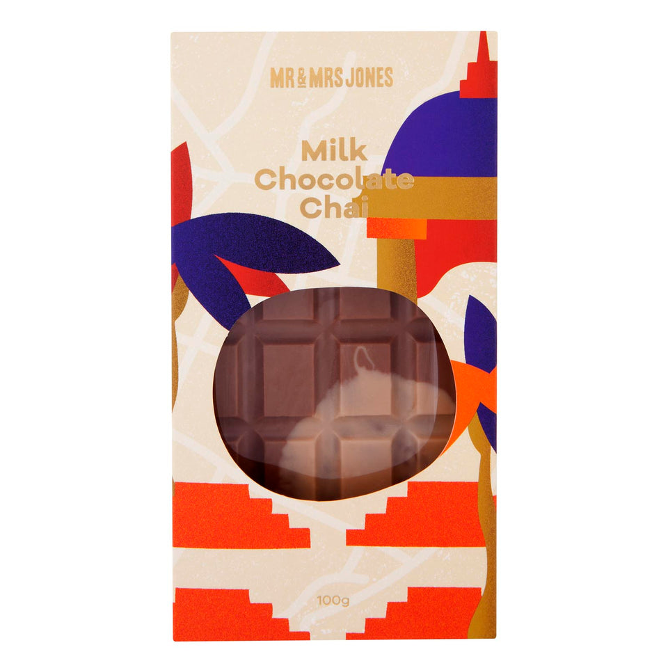 India Chocolate Bar | Milk Chocolate Chai